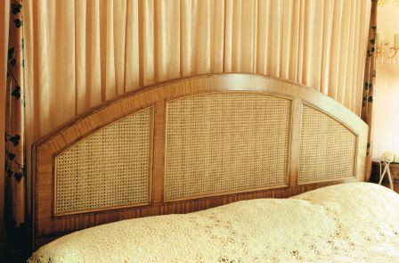 Satinwood Headboard