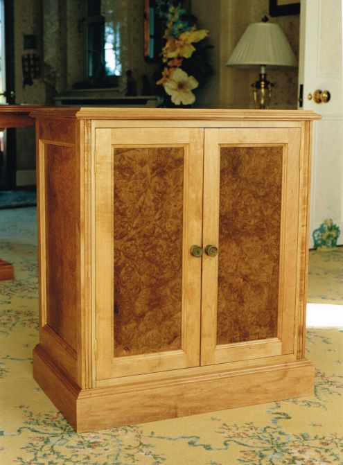 Hand-Crafted Music Cabinet