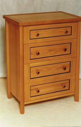 English Oak Chest of Drawers