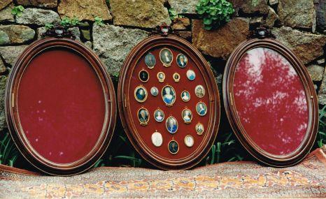 Walnut Display Cabinets