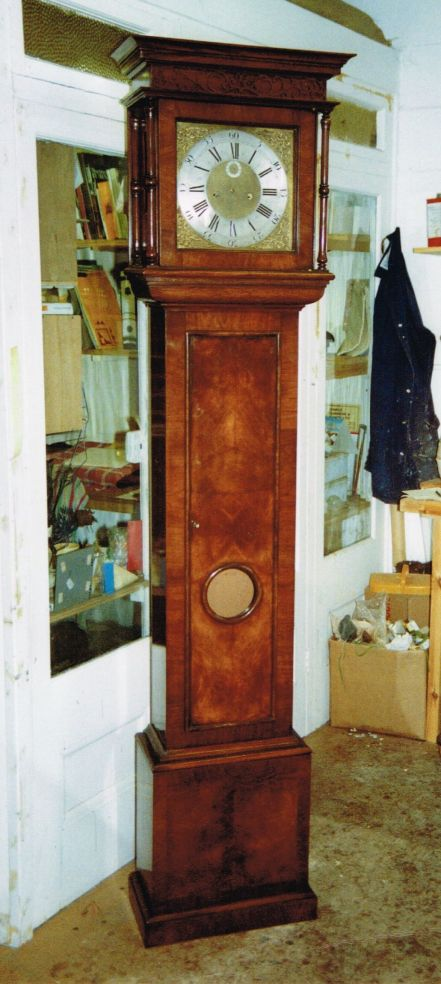 Hand-crafted Walnut Grandfather Clock