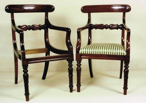 Mahogany Dining Chair